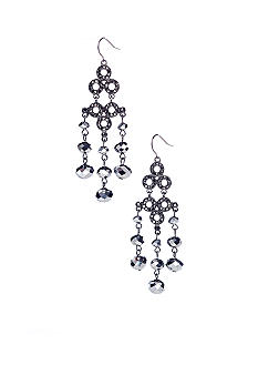 R.J. Graziano Chandelier Earrings