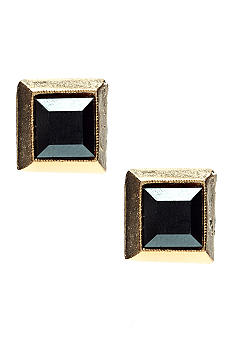 R.J. Graziano Pyramid Stud Earrings