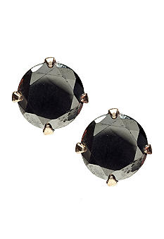 R.J. Graziano Tourmaline and Hematite Stud Earrings