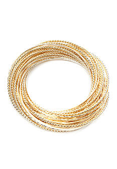 R.J. Graziano Interlocking Bangle Set