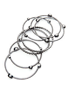 R.J. Graziano Stone Bangle Set