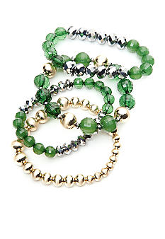 R.J. Graziano Set of 4 Stretch Bracelets