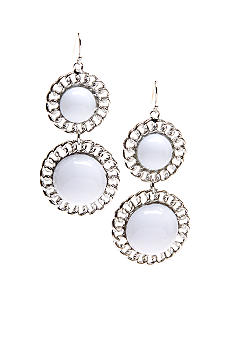 R.J. Graziano Double Drop Bead Earring