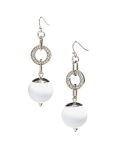 R.J. Graziano Drop Bead Earrings