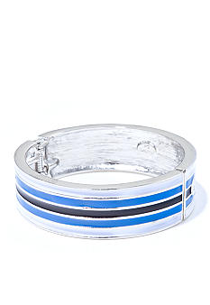 R.J. Graziano Horizontal Stripe Bangle