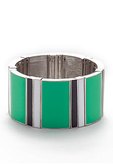 R.J. Graziano Stripe Stretch Multi Bracelet
