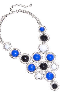 R.J. Graziano Multicolor Statement Necklace