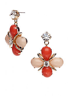 R.J. Graziano Floral Drop Earrings