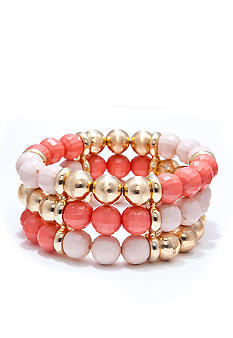 R.J. Graziano Multi Beaded Bracelet