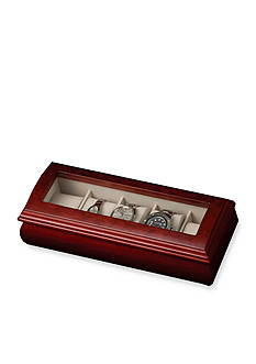 Mele & Co. Emery Glass Top Watch Jewelry Box - Online Only