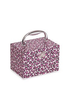 Mele & Co. Josie Girl's Musical Ballerina Jewelry Box with Leopard Design