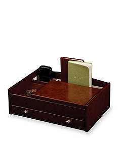 Mele & Co. Davin Men's Wooden Dresser Top Valet