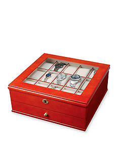 Mele & Co. Chris Locking Watch Jewelry Box - Online Only