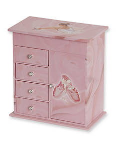 Mele & Co. Callie Girl's Musical Ballerina Jewelry Box