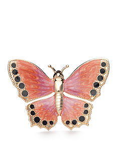 Kim Rogers Gold-Tone Butterfly Boxed Pin