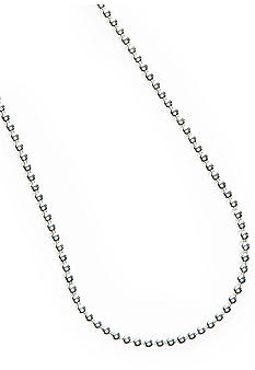 Napier Silver Bead Collar Necklace