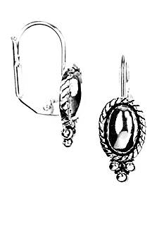 Napier Pierced Drop Earrings