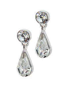 Napier Pierced Teardrop Earrings