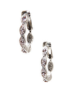 Napier Clip Hoop Earrings