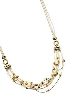Napier Multi Row Frontal Necklace