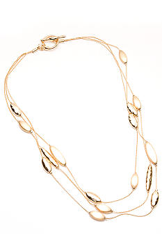 Napier Long Strand Necklace