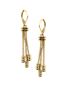 Napier Pierced Shaky Drop Earrings