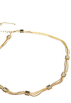 Napier Gold Collar Necklace