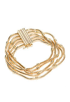 Napier Gold Fashion Bracelet