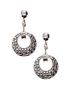 Napier Clip Door Knocker Earrings