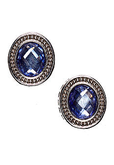 Napier Button Earrings