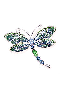 Napier Boxed Dragonfly Pin