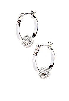 Napier Pierced Click It Hoop Earrings