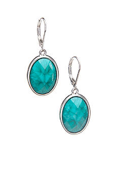 Napier Leverback Drop Earrings