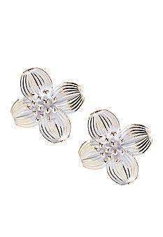Napier Flower Stud Earrings