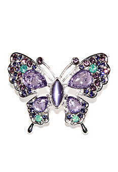 Napier Boxed Butterfly Pin