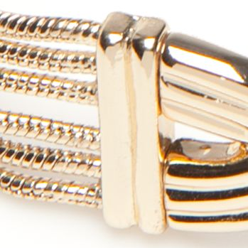 Jewelry & Watches: Napier Fashion Jewelry: Gold Napier Chain Knot Bow Tie Stretch Bracelet