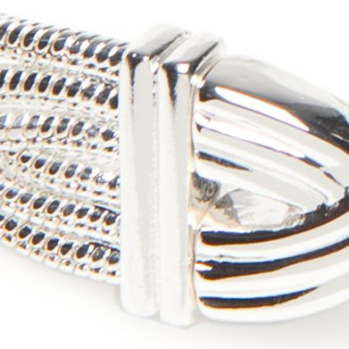 Jewelry & Watches: Napier Fashion Jewelry: Silver Napier Chain Knot Bow Tie Stretch Bracelet
