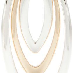 Jewelry & Watches: Pendant Sale: Multi Napier Silver-Tone Golden Weave Pendant Necklace