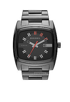 Diesel Men's Mr. Red Black Stainless Steel Watch
