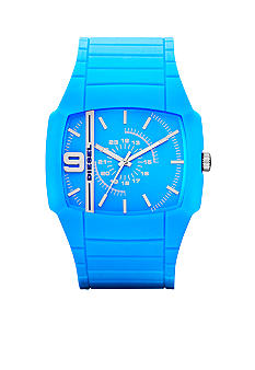 Diesel Men's Analog Blue Silicone Watch