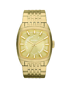 Diesel Men's Gold-Tone Stainless Steel Three-Hand Watch