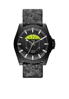 Diesel Men's Reflective Camo Arges Three-Hand with Date Watch