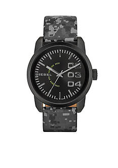 Diesel Men's Reflective Camo Double Down 46 Three-Hand Analog Watch