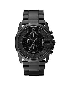 Diesel Blackout Black Stainless Steel Bracelet Watch