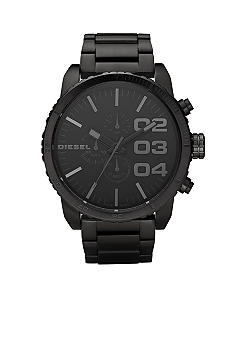Diesel Men's Black Chronograph Dial with Black Stainless Steel Bracelet Watch
