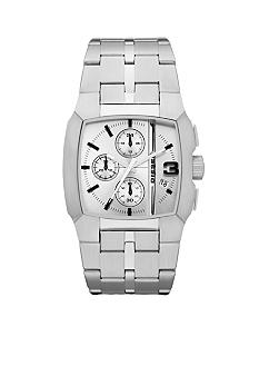 Diesel Men's Stainless Steel Square Chronograph Watch