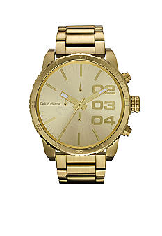 Diesel Men's Gold Tone Stainless Steel Chronograph Watch