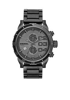 Diesel Men's Gunmetal Round Chronograph Stainless Steel Bracelet Watch