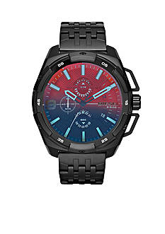 Diesel Men's Heavyweight Black Chronograph Watch