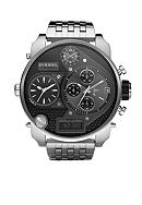 Diesel Men's Multi-Movement Stainless Steel Bracelet Black Chronograph Watch